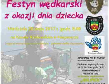 Festyn Wędkarski z okazji Dnia Dziecka - Zaproszenie