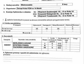 Zawody Spinningowe o Mistrzostwo Koła z łodzi na Zalewie Zegrzyńskim. 11.06.2017 r.