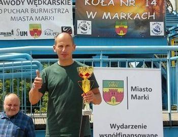 Towarzyskie Zawody Spławikowe o Puchar Burmistrza Miasta Marki 2018 r